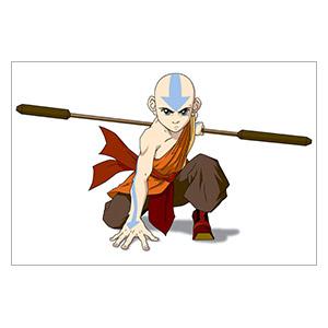 Avatar: The Last Airbender. Размер: 30 х 20 см